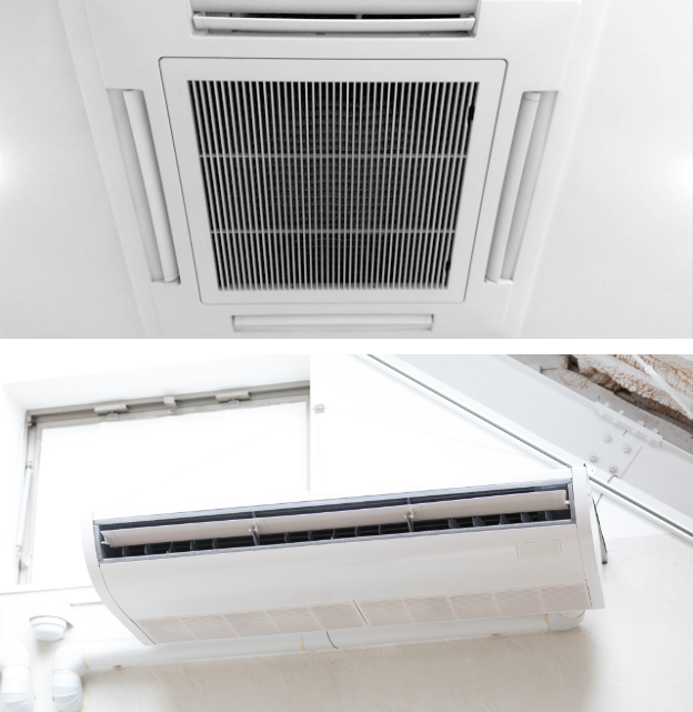 業務用エアコン(天井吊り下げ型・天井埋め込み型)
